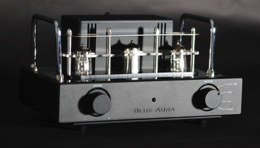 Blue Aura v32 Blackline Tube Amplifier (Bluetooth & Pre-Amp) - Black