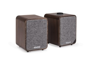 Ruark MR1 MK2 Active Bluetooth Speakers - Walnut